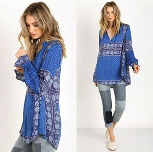 Free People Changing Times Blouse